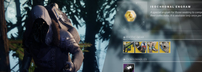 Destiny 2 Xur Location and Inventory for Jan 12-16