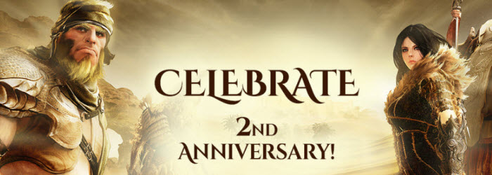 Black Desert 2nd Anniversary Sale and Gifts