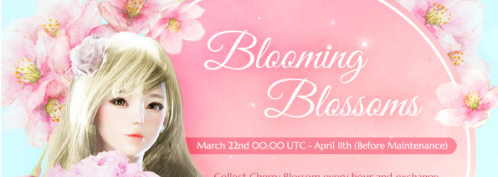 Black Desert Blooming Blossom Event