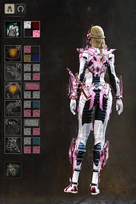 Gw2 Gemstore Update Inquest Exo Suit Outfit Dulfy