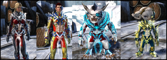 GW2 Gemstore Update–Inquest Exo-Suit Outfit
