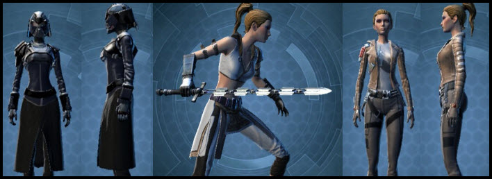 SWTOR New Armor & Weapons in Collections