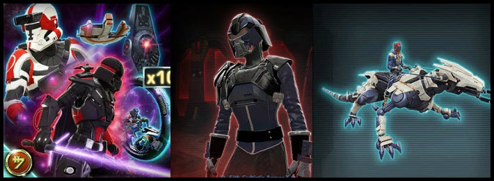 SWTOR Upcoming Cartel Market Items From Patch 5.8
