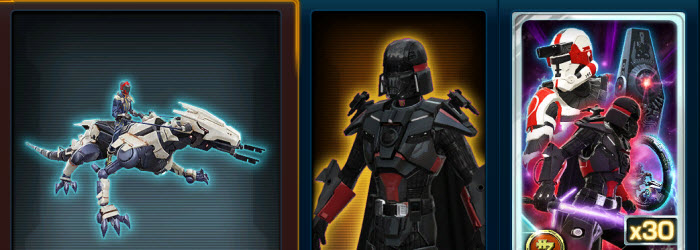 SWTOR Cartel Market Update – April 3