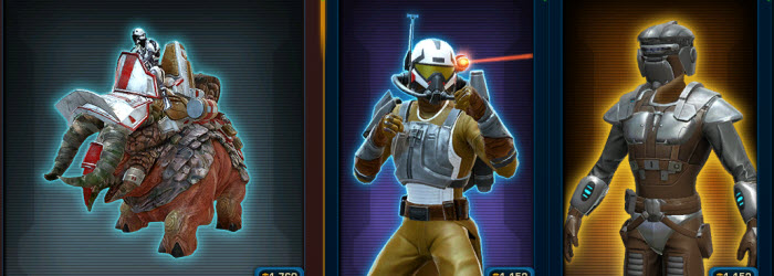SWTOR Cartel Market Update – May 15