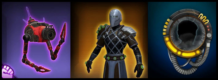 SWTOR Upcoming Items from Patch 5.9