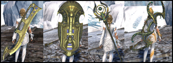 GW2 Desert King Weapon Skins Gallery