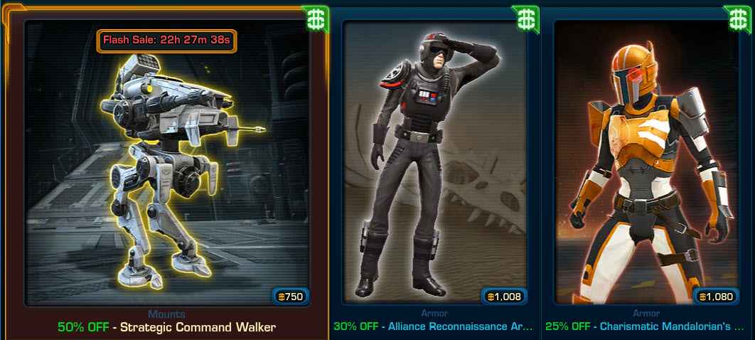 SWTOR Cartel Market Update – September 24