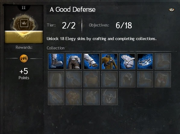 GW2 - Elegy and Requiem Armor Collection Guide | Time