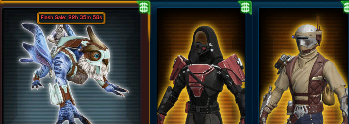 SWTOR Cartel Market Update – October 1