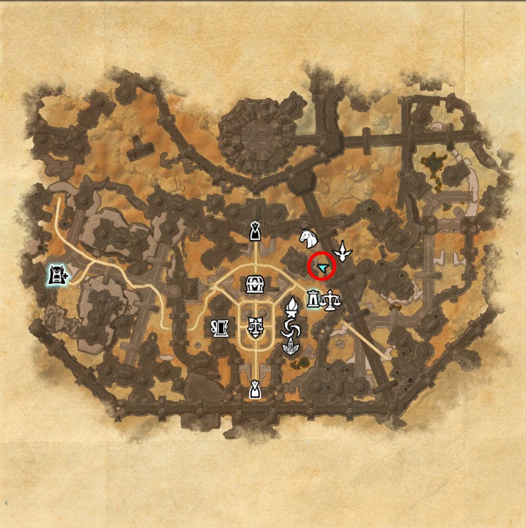 eso how to get shadow cleft skyshard