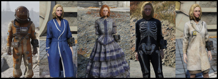 Fallout 76 Apparel and Outfits Guide