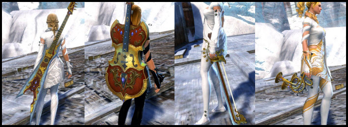 GW2 Orchestral Weapon Skins Gallery