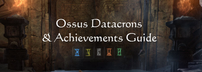 SWTOR Ossus Datacrons and Achievements Guide
