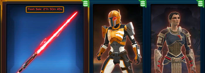 SWTOR Cartel Market Update for Dec 3