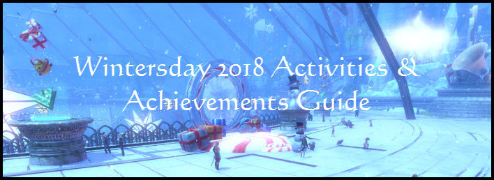 GW2 Wintersday 2018 Activities and Achievements Guide