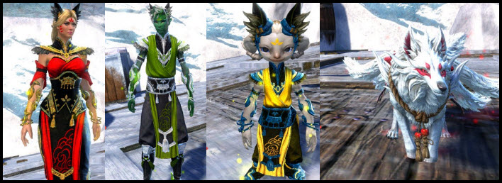GW2 Gemstore Update–Shrine Guardian Outfit & Mini