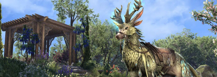 ESO Evolve Indrik Mounts During 2019 Ingame Events