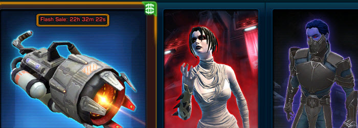 SWTOR Cartel Market Update for Jan 7