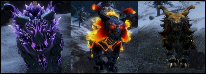 GW2 Gemstore Update–Frontline Warclaw Mount Pack