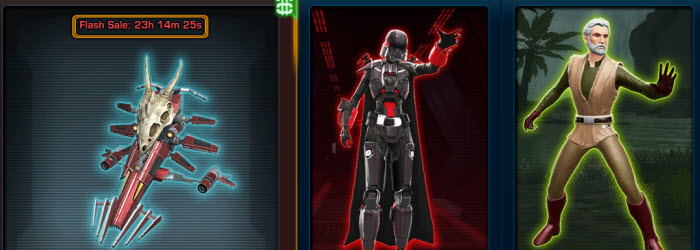 SWTOR Cartel Market Update for March 11