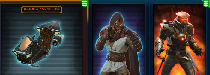 SWTOR Cartel Market Update for March 4