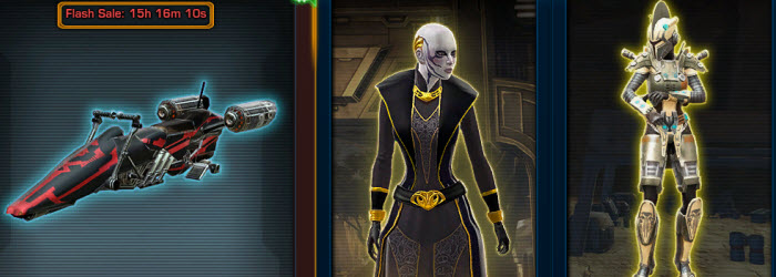 SWTOR Cartel Market Update for March 25