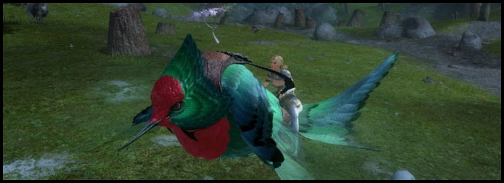 GW2 Gemstore Update–Magnificent Hummingbird Skimmer Skin